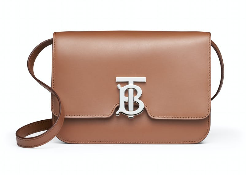 Malt brown leather TB bag with leather strap (1).jpg
