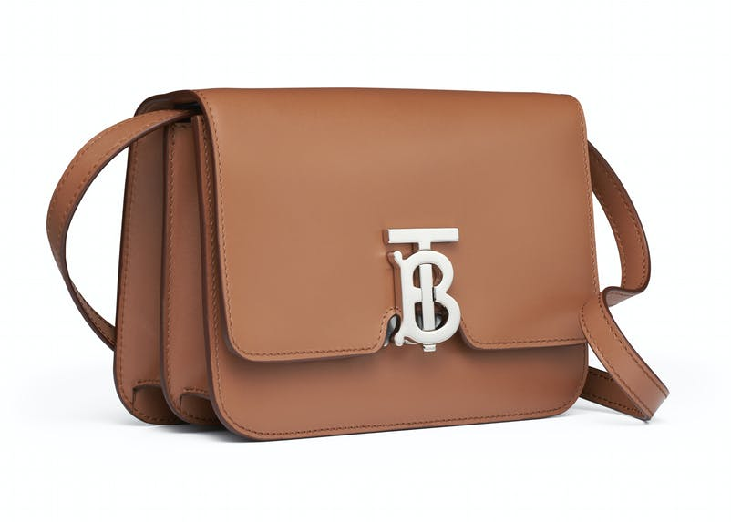 Malt brown leather TB bag with leather strap (2).jpg