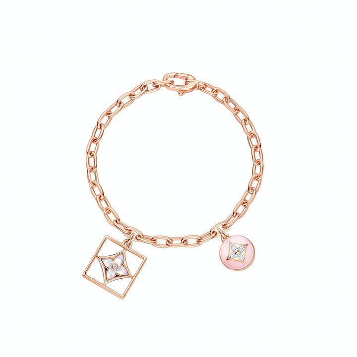 LV_Bracelet B Blossom in pink and white gold, pink opal, white mother of pearl and diamonds_EUR 7000 (1).jpg