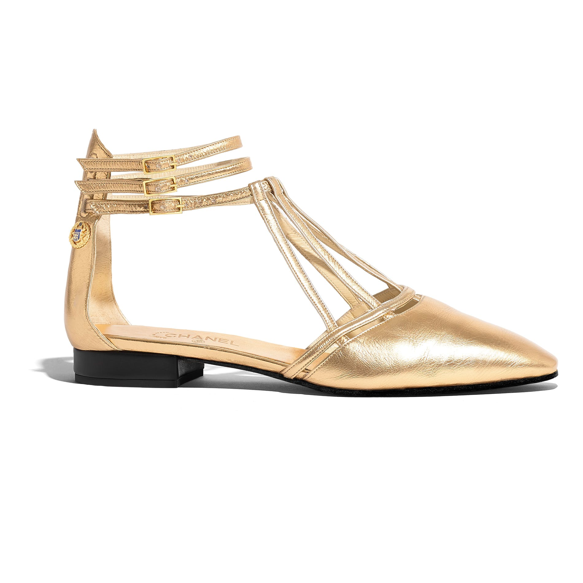 1559726673674503 06 g35047 x53042 0h853 gold sandals in lam  leather hd