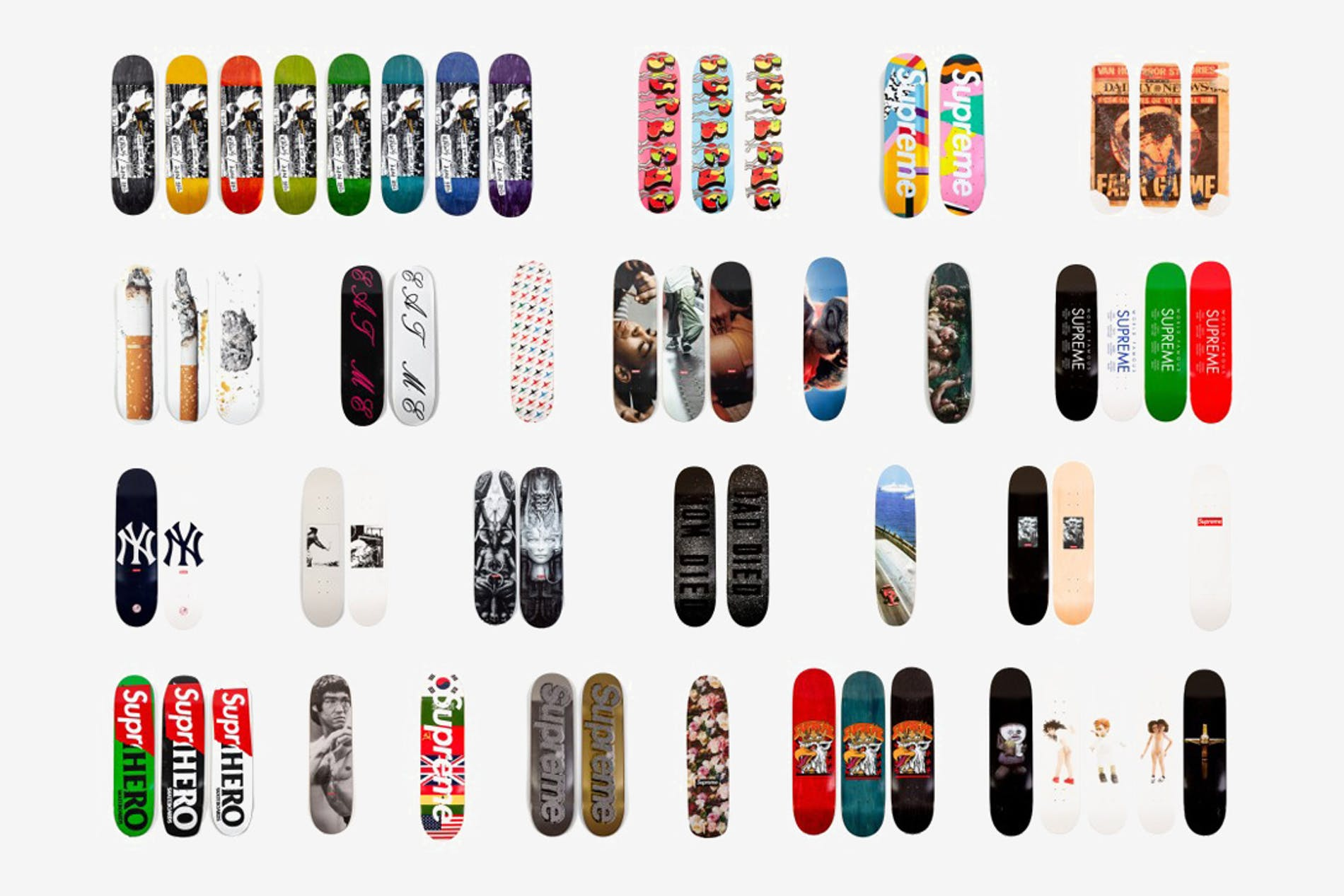 1548065059058642 20 years of supreme skateboard collection 1