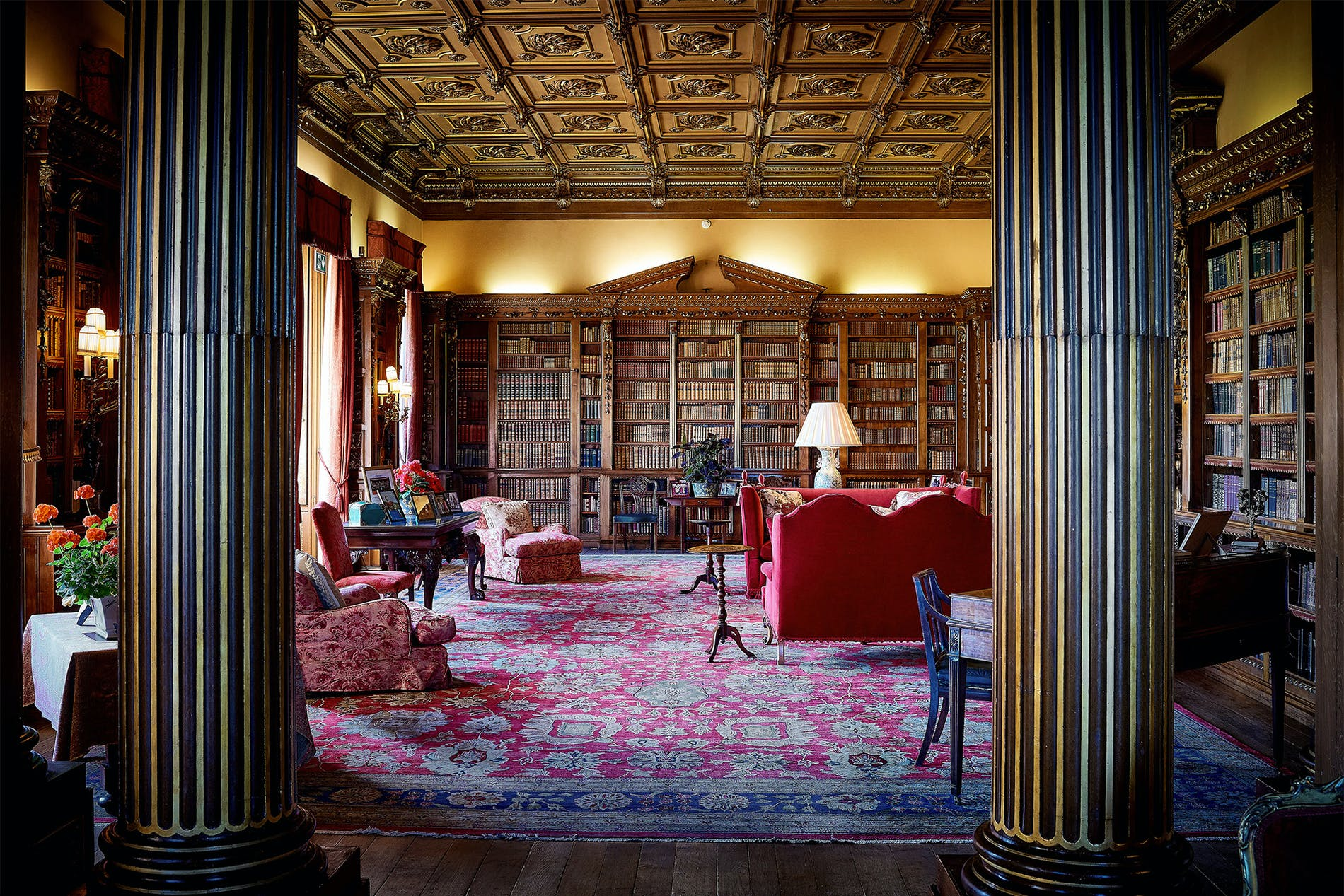 1568884418390473 library jl1 image credit   highclere castle