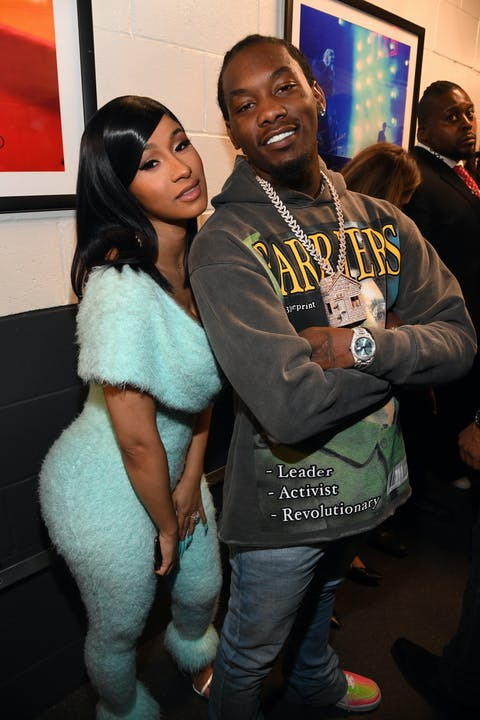 Cardi B et Offset © Kevin Mazur/Getty Images