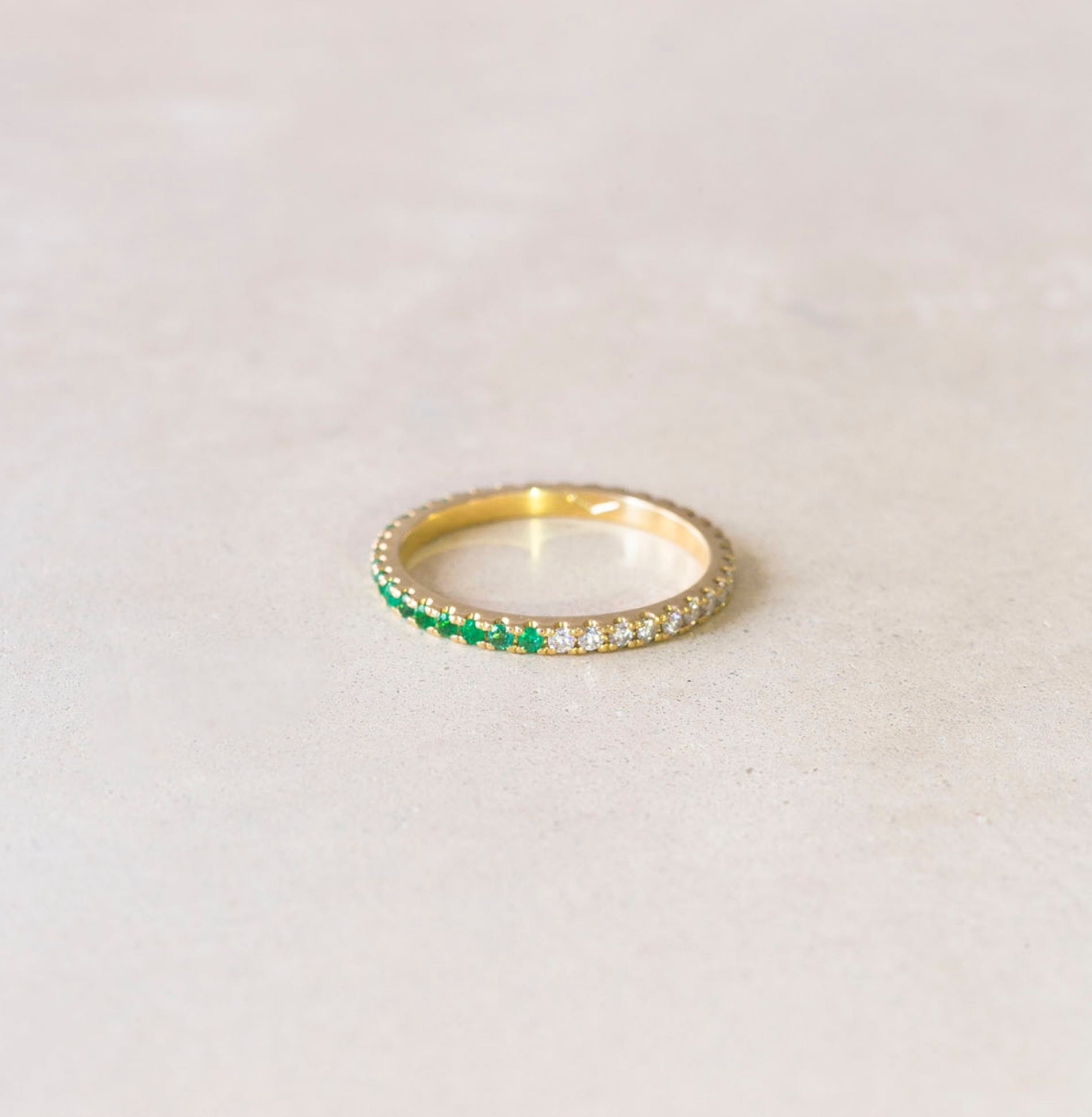 1576535363503095 elliot and ostrich moments signature lucie ring alliance gold diamond emerald personalise engrave 1