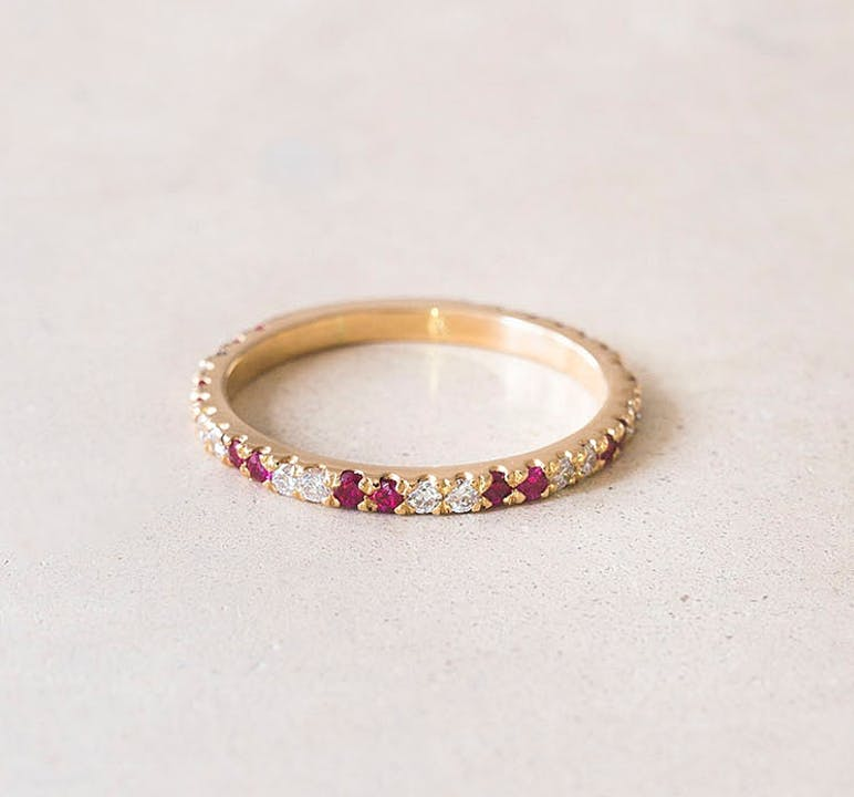 Elliot-and-ostrich-Moments-Signature-Rosie-ring-alliance-gold-diamond-ruby-personalise-engrave-1.jpg