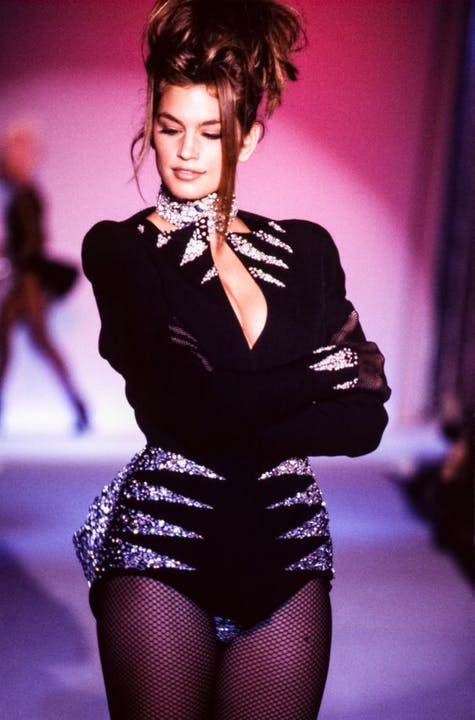Thierry Mugler automne-hiver 1990