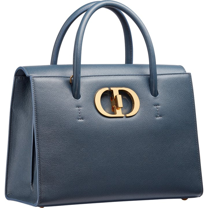 5 DIOR ST HONORE BAG LARGE SIZE BLUE.jpg