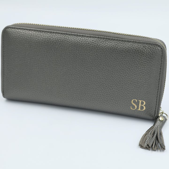 Berlin Leather Purse - pewter AED285.jpg
